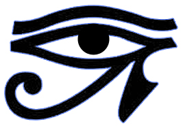 The eye of Horus is upon you.