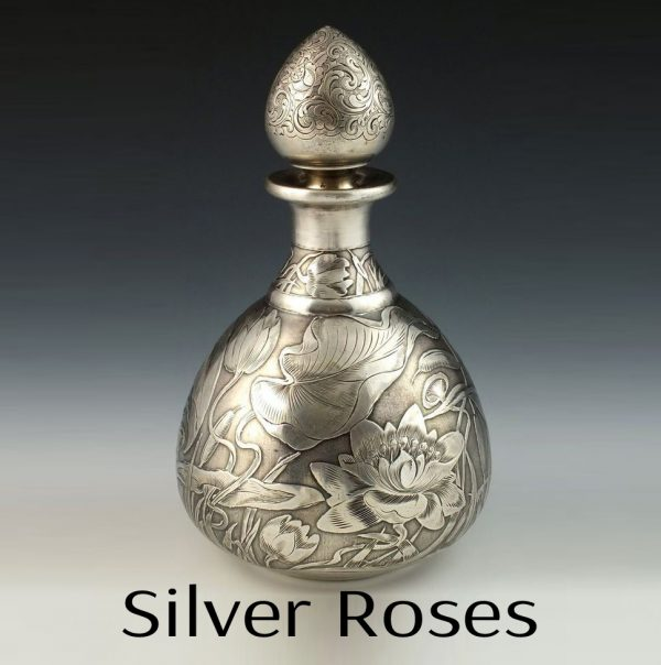 Silver Roses Perfume Oil