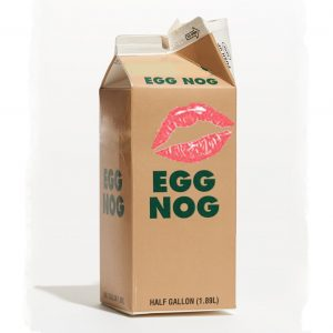 Lipstick on the Egg Nog Carton Perfume Oil