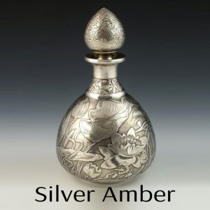 Silver Amber Perfume Oil