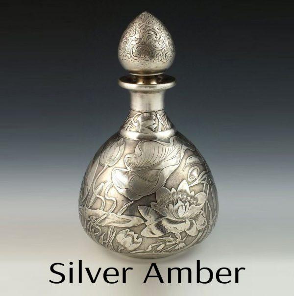 Silver Amber Perfume Oil