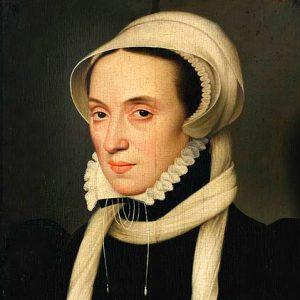 Portrait of Christina of Denmark-Dry Perfume Oil