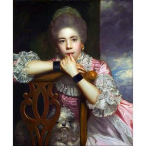 Portrait of Mrs. Abington (Reynolds) Perfume Oil