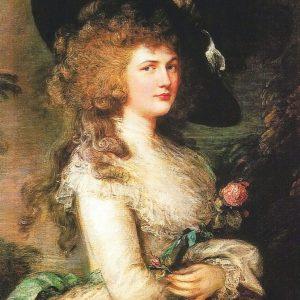Georgiana, Duchess of Devonshire 100% Natural