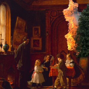 The Burning Xmas Tree Perfume Oil