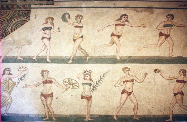 Bikini Girls of Sicily (Ancient mosaic) Perfume Oil